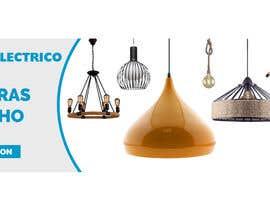 #31 untuk Diseñar un banner para slider imágenes lámparas oleh helalahmed9