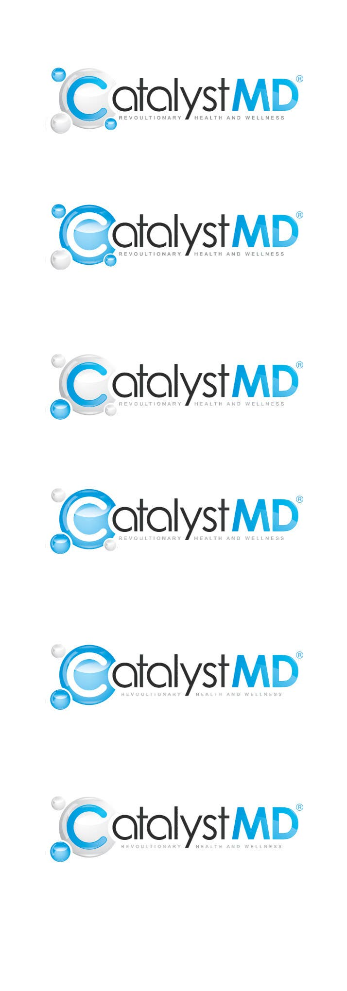 #227 for Logo Design for CatalystMD, Revolutionary Health and Wellness. by pixel11