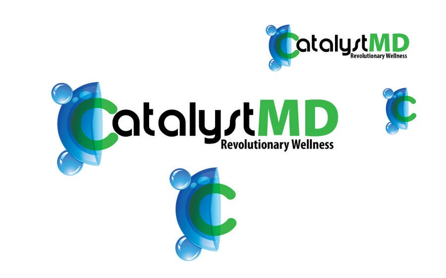 Конкурсная заявка №89 для Logo Design for CatalystMD, Revolutionary Health and Wellness.