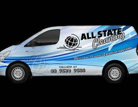 #15 for Van design and matching brochure design for a Cleaning Company by divyaemittal