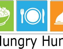 #1 for Plant based with lots of different foods, named: A Hungry Human I am wanting to incorporate the name in the middle over the top of a fork, spoon & knife, I like the look of rustic designs and maybe #plantbased in very small writing somewhere on the logo by darkavdark