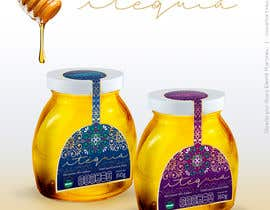 #17 for Etiqueta para envase con miel de abeja - Honey label by rosaelemil