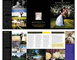 unidot tarafından Graphic Design for MARKETING BROCHURE -Blueberry Hill Estate- Wedding Specific -Media Kit for print için no 42