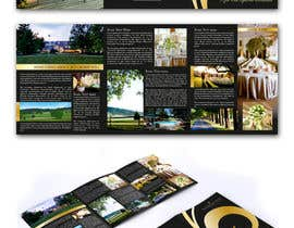 midget tarafından Graphic Design for MARKETING BROCHURE -Blueberry Hill Estate- Wedding Specific -Media Kit for print için no 54