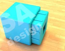 Nro 6 kilpailuun CSS: Create a 3d cube in cartoony style like this image käyttäjältä saoasprovski