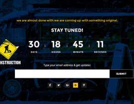 Nro 5 kilpailuun Coming Soon Landing Page käyttäjältä sherazi2592