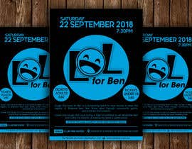 #41 for Fundraiser Flyer - Laugh Out Loud for Ben - or - LOL for Ben by ssandaruwan84