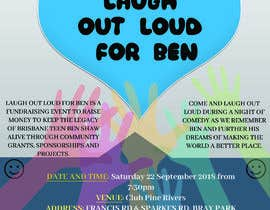 #43 for Fundraiser Flyer - Laugh Out Loud for Ben - or - LOL for Ben by Shourav007