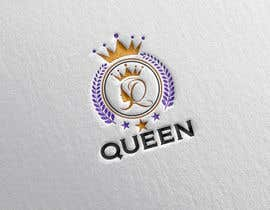 "#21 untuk logo design for a prestigious green tea brand .. name of the brand is ""Queen"" so the logo has to be very royal , should have the touch of a queens crown preferably have resemblance of the queen figure like on a deck of playing cards, should have a green l oleh designhunter007"