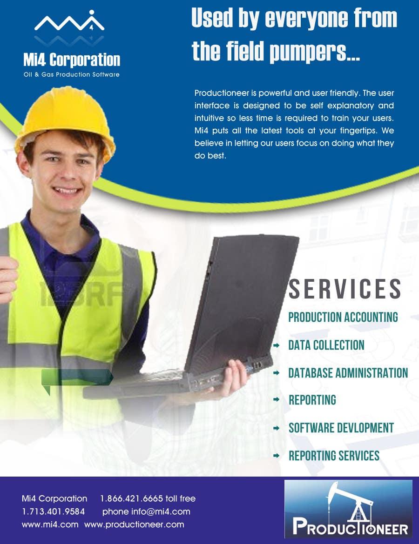 Konkurrenceindlæg #                                        36                                      for                                         Advertisement Design for Mi4 Corporation