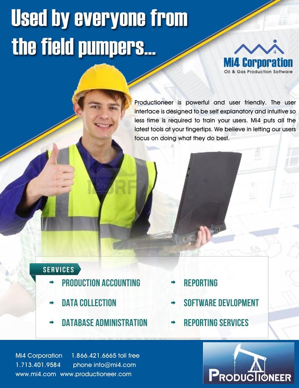 Kilpailutyö #                                        34                                      kilpailussa                                         Advertisement Design for Mi4 Corporation