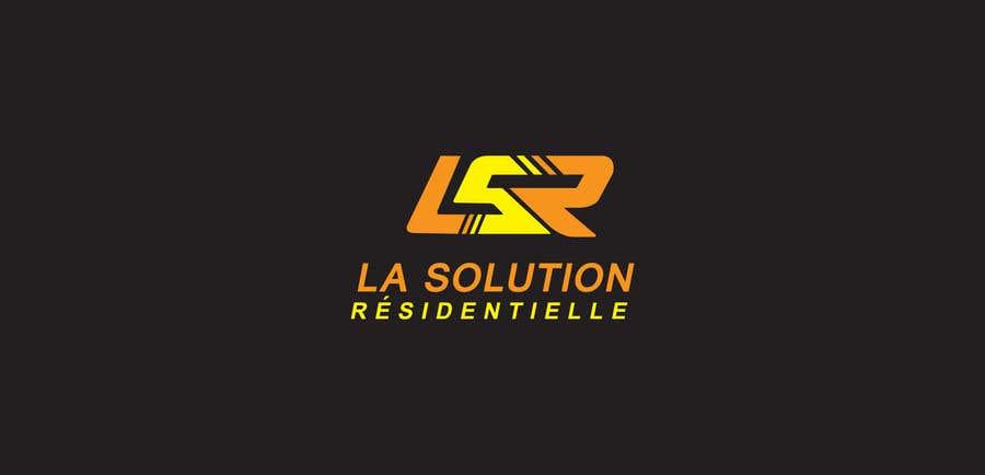 Конкурсна заявка №103 для Design a Logo for the company: La Solution Résidentielle