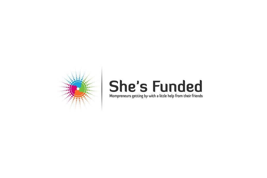 Kilpailutyö #112 kilpailussa Logo Design for She's Funded