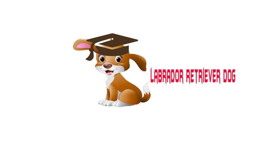 Wettbewerbs Eintrag #4 für Logo design - Cartoon Dog Drawing logo
