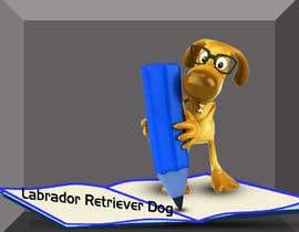 #15 für Logo design - Cartoon Dog Drawing logo von juwelmia2210