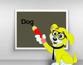 #30 untuk Logo design - Cartoon Dog Drawing logo oleh juwelmia2210