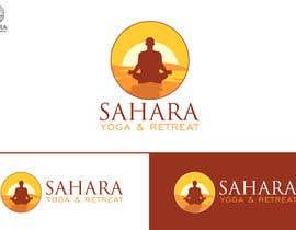 #214 para Design a Logo for Yoga-Trips into the desert de Attebasile