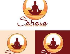 #217 para Design a Logo for Yoga-Trips into the desert de NatachaHoskins