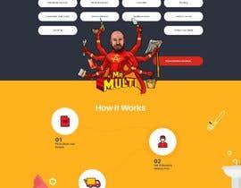 #37 Mockup Redesign of existing Website részére dzsouma által