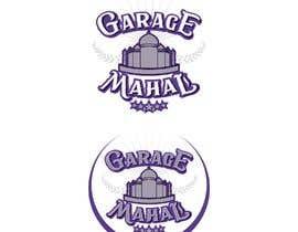 "Nro 68 kilpailuun Logo Artwork Design for ""Garage Mahal"" man cave käyttäjältä EvaLisbon"