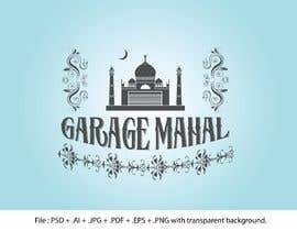 "#74 for Logo Artwork Design for ""Garage Mahal"" man cave by AbsoluteArt"
