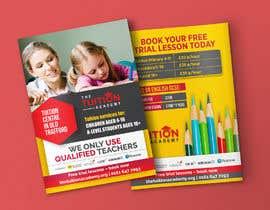 Nro 11 kilpailuun A5 flyer design for tuition centre. käyttäjältä meenapatwal
