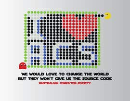 #451 for T-shirt Design for Australian Computer Society af kostastaf