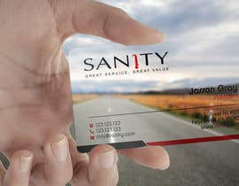 """Nro 20 kilpailuun Design a Loyalty Card for """"Sanity"""" käyttäjältä smshahinhossen"""