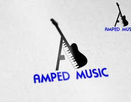 "balluprofessor tarafından Create a logo for ""Amped Music"" için no 76"