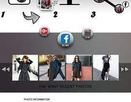 Nro 9 kilpailuun PSD - Mockup / Social Sharing käyttäjältä josemillan9
