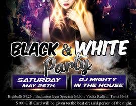 "#30 cho Design a Poster for ""Black & White Party"" bởi harsha456d"