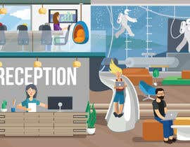 #20 for Scene Creation - Flat Designing: Creating a Reception Scene by trishabose