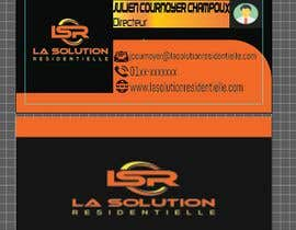 #250 for Design some business cards for the company : La Solution Résidentielle by mredula895