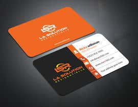 #236 for Design some business cards for the company : La Solution Résidentielle by OSHIKHAN