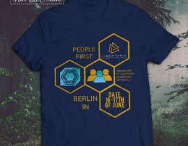 "#13 for Design a t-shirt for an event for ""People First"" conference in Berlin by nurallam121"