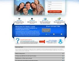 #32 for Website Design for clickyloans af ANALYSTEYE