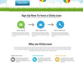 nº 15 pour Website Design for clickyloans par SadunKodagoda