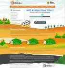 Graphic Design Inscrição do Concurso Nº37 para Website Design for clickyloans