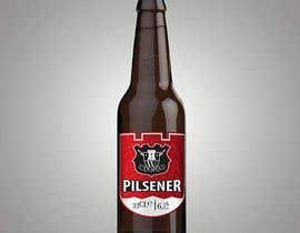 #12 for Create a new label for a premium pilsener (craft beer) brand extension by yafimridha