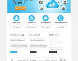 Nro 11 kilpailuun Website Design for cloud hosting and cloud storage mini site for major UK hosting company käyttäjältä SadunKodagoda