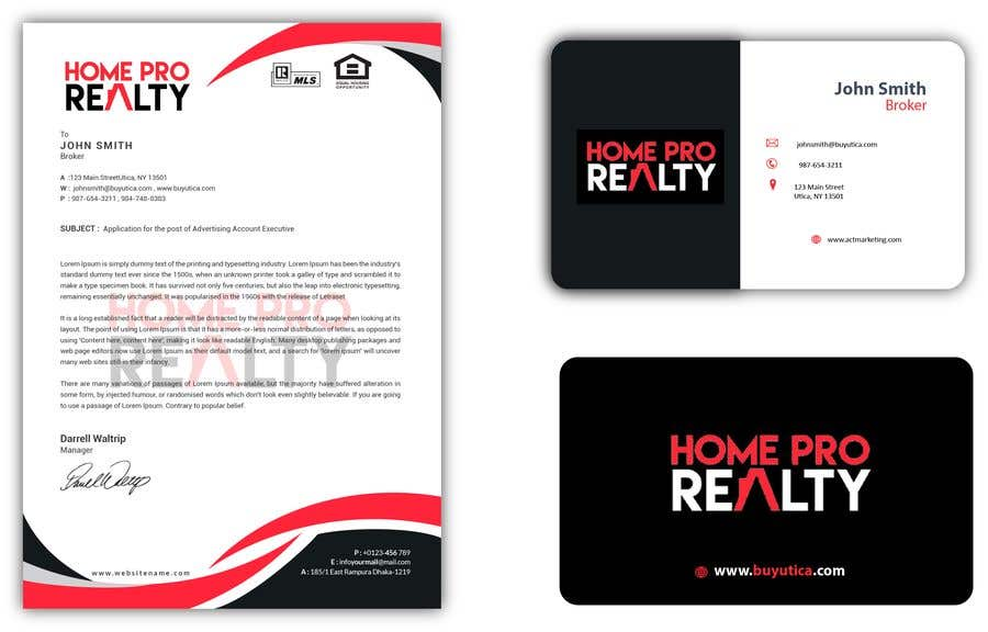 Entry 97 by fall3n0005000 for design business cards and letterhead contest entry 97 for design business cards and letterhead for real estate company reheart Image collections