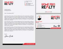 #209 for Design business cards and letterhead for real estate company by sabbir2018