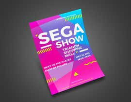 #5 cho A5 Flyer design for Sega Show bởi girmax