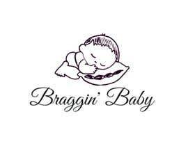 #33 untuk Braggin' Baby Logo oleh omargazi