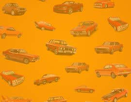 #25 สำหรับ Background  Skin / Collage needed of Muscle Car Pattern / Arrangement โดย Adnanhabib02