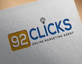 #77 untuk 92 Clicks logo oleh sinthiakona