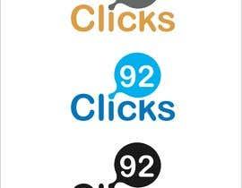 #133 untuk 92 Clicks logo oleh jeevasan