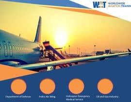 Nro 4 kilpailuun Design a Powerpoint template for Worldwide Aviation Training käyttäjältä B2BDigitizer4