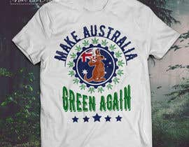 #21 for Design a T-Shirt relating to Australia and Cannabis by nurallam121