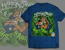 #33 for Design a T-Shirt relating to Australia and Cannabis by GribertJvargas